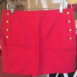 Skirt with nice buttons